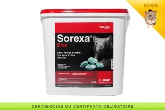 Anti souris bloc Sorexa Difenacoum