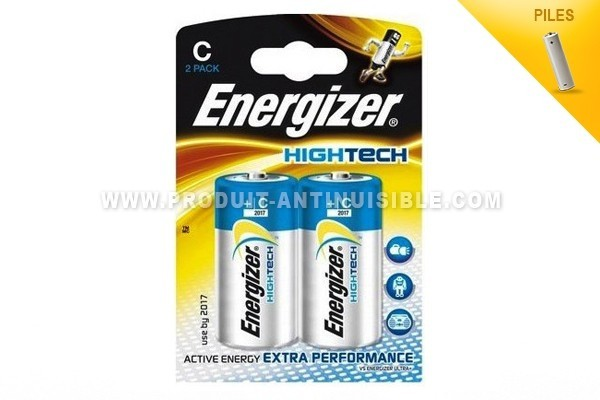 Energizer Piles Hightech Lot de 2 piles LR14-1.5V