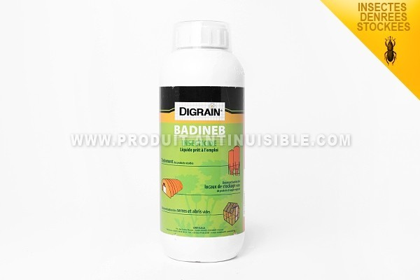 Badineb en 1 litre contre les insectes des denrées stockées
