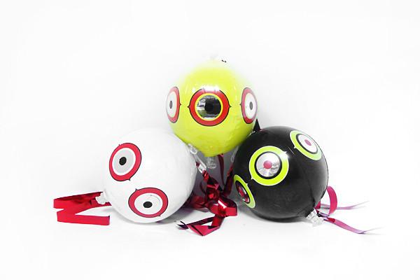 Anti Oiseaux Ballons Effaroucheur en lot de 3