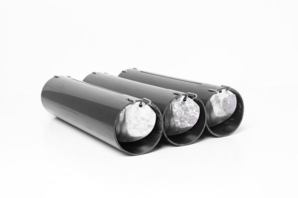 Anti taupes tunnel en lot de 3 tubes