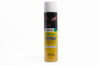 Anti araignées Aérosol Insecticide Digrain Rampants