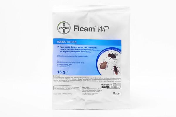 Anti punaises de lit Insecticide Ficam WP sachet de 15g