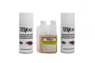 Anti puces Pack complet pour 50m² Insecticide + régulateur de croissance