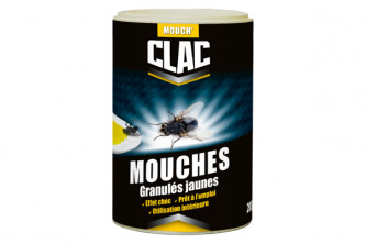 Anti mouches Mouch' Clac granulés jaunes 500 g