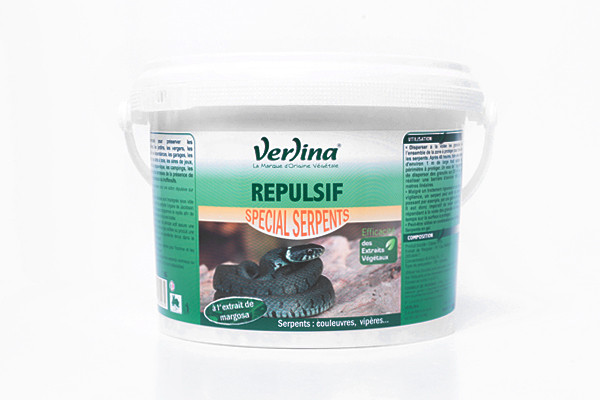 Répulsif Serpents d'Origine Végétale 1kg