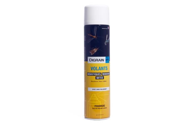 Anti moustiques Aérosol Insecticide Digrain Volants