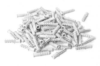 Anti pigeons fixation filet lot de 100 chevilles plastiques