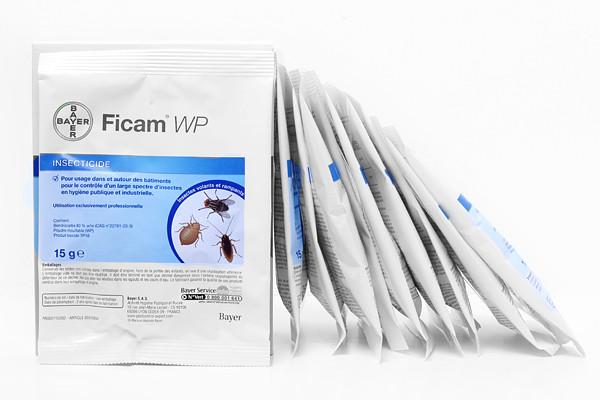 Anti mites et teignes Insecticide Ficam WP lot de 10