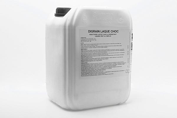 Anti cafards insecticide Digrain Laque Choc 10L