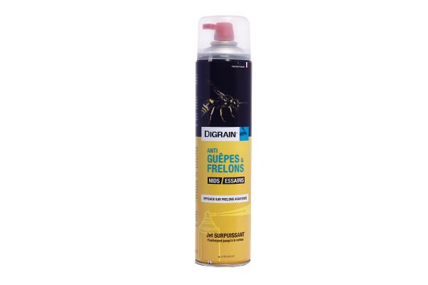 Aérosol Insecticide Digrain Guêpes et Frelons
