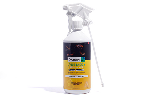 Anti mouches Insecticide Digrain laque 1L