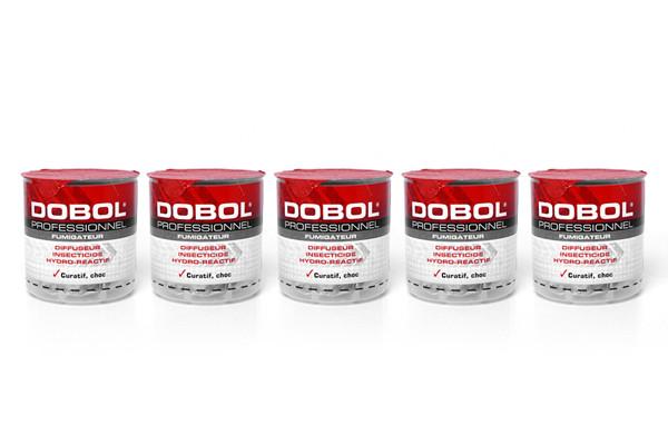 Anti mouches fumigène insecticide Dobol en lot de 5