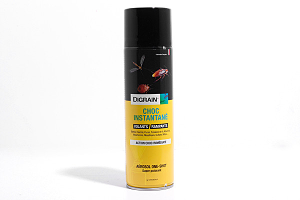 Anti acariens aérosol Digrain Instantané 400ml