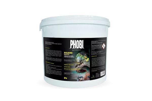 Anti guêpes et frelons asiatiques Phobi poudre 5 kg PYR TD+