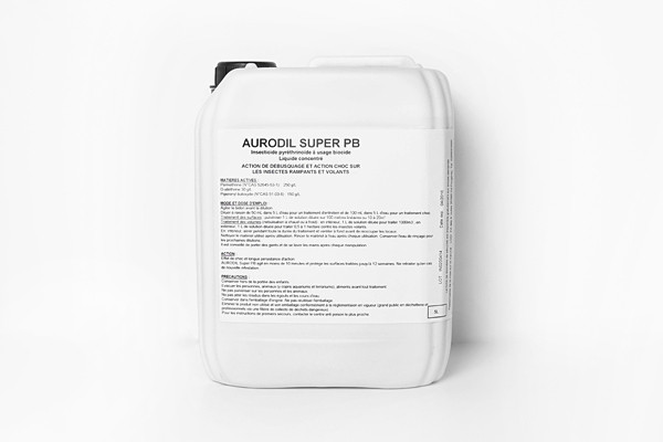 Anti fourmis insecticide Aurodil Super PB 5L