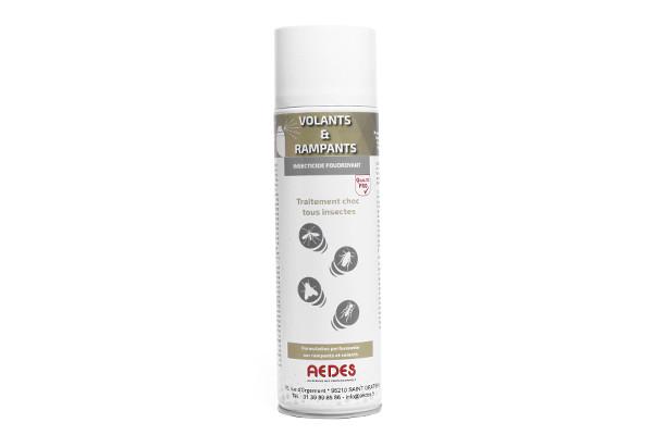 Anti punaises de lit Insecticides Aérosols Insectes Volants et Rampants