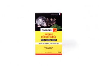 Anti rats Digrain avoine décortiquée 150g