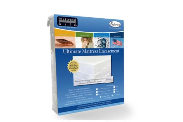 Housse de protection anti acariens pour matelas bébé Mattress Safe 60x120x12 cm