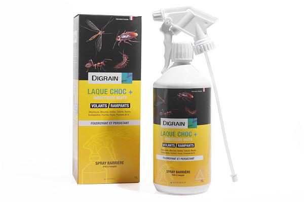 Anti cafards insecticide Digrain laque 1L