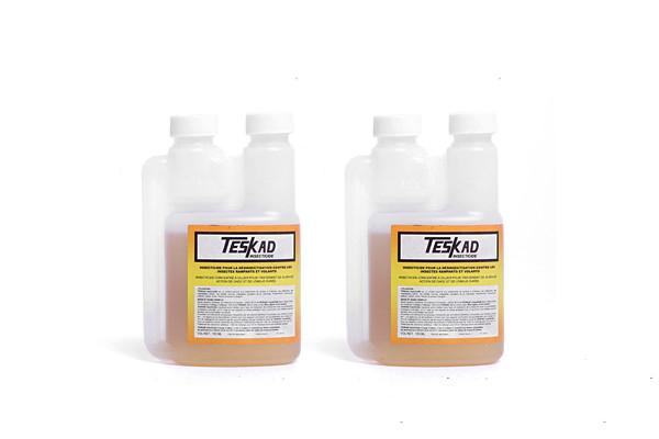 Teskad Insecticide Anti puces concentré 100ml en lot de 2 Anti insectes rampants anti volants pour 200m²