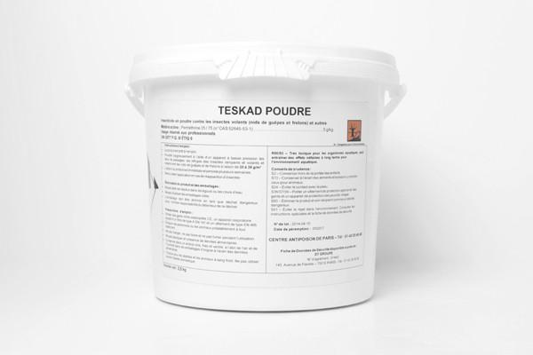 Anti guêpes et frelons Poudre Teskad 5 kg