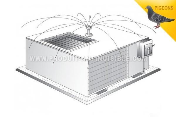effaroucheur anti pigeon et mouette daddy long legs. Black Bedroom Furniture Sets. Home Design Ideas