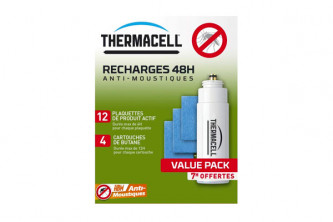 Recharge 48H pour Thermacell Nomade Pro anti moustiques