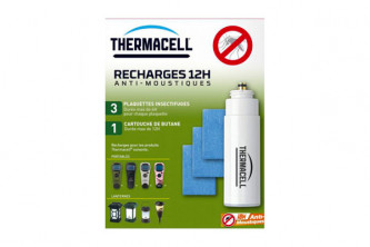 Recharge 12H pour Thermacell Nomade Pro anti moustiques