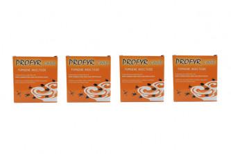 Insecticide anti puces Prêt à l'Emploi Profyr Fumigène lot de 4