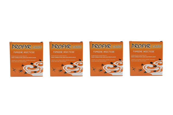 Anti fourmis Insecticide Profyr Fumigène lot de 4